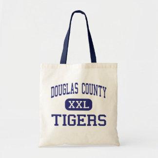 O Condado de Douglas - tigres - alto - Douglasvill Bolsa Para Compras