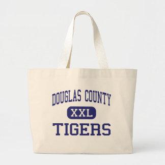O Condado de Douglas - tigres - alto - Douglasvill Bolsas Para Compras
