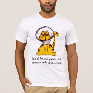 O cone da vergonha! camiseta