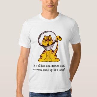 O cone da vergonha! t-shirt