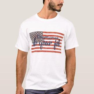O congressista faz sua camisa 1 do trabalho