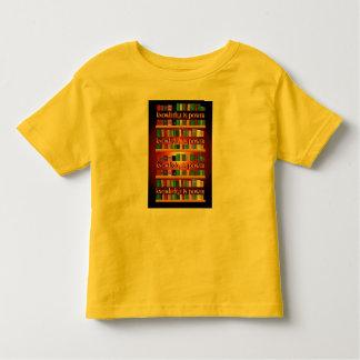 O conhecimento é poder Bookscase Camiseta Infantil