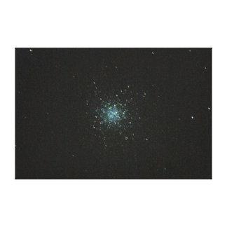 O conjunto de estrela M13 na lona da parede de Her Impressão Em Tela