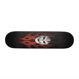 O conselho 2 do crânio do tatuagem shape de skate 18,4cm