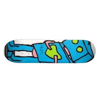 O conselho azul de Robo Shape De Skate 18,4cm