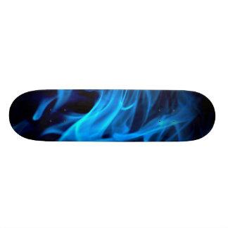 O conselho azul do fumo shape de skate 18,7cm