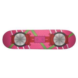 O conselho cor-de-rosa do pairo (APENAS um Shape De Skate 20,6cm