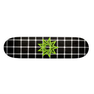 O conselho da ilusão de Zerodraline Shape De Skate 21,6cm