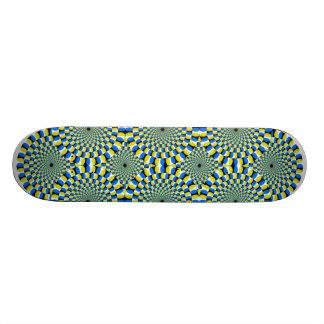 O conselho da ilusão shape de skate 20,6cm