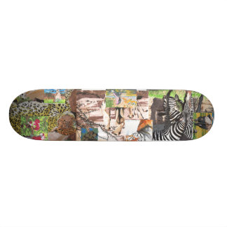 O conselho da selva shape de skate 19,7cm