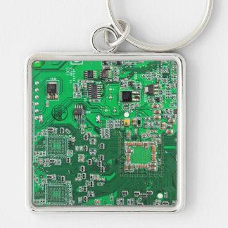 O conselho de circuito do geek do computador - ver chaveiros