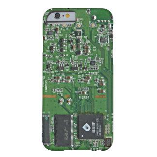 O conselho de circuito engraçado capa barely there para iPhone 6