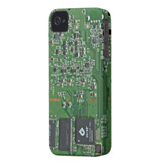 O conselho de circuito engraçado capas para iPhone 4 Case-Mate