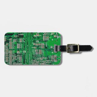 O conselho de circuito etiqueta de bagagem
