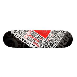 o conselho de Moscovo Shape De Skate 20cm