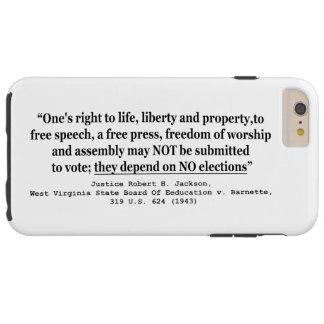 O conselho de W Virgínia de Ed. v Barnett 319 E.U. Capas iPhone 6 Plus Tough