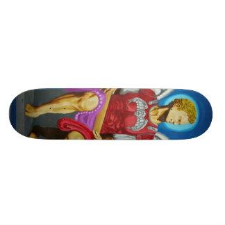 O conselho do anjo shape de skate 19,7cm