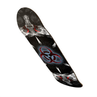 O conselho do apocalipse do Biohazard Shape De Skate 20,6cm