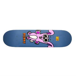 O conselho do coelho shape de skate 20,6cm