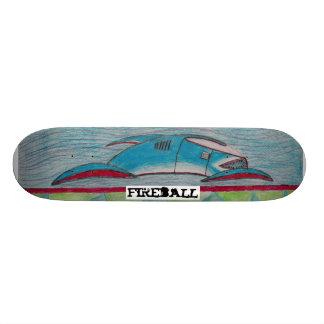 o conselho do tubarão shape de skate 18,4cm