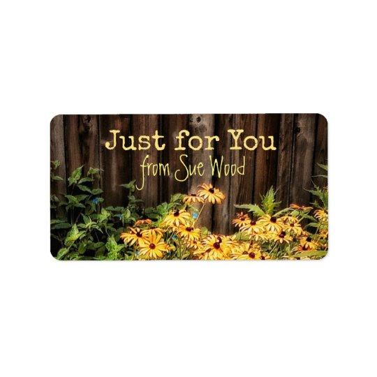 O conselho encantador do celeiro e etiquetas