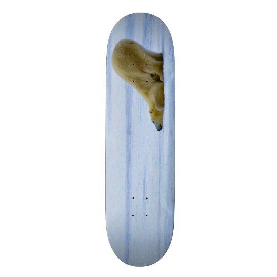 O conselho feito sob encomenda manchado do parque shape de skate 21,6cm