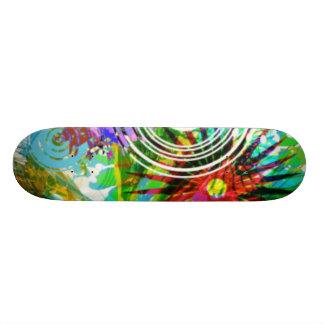 O conselho floral skate personalizado