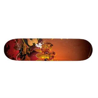 O conselho musical shape de skate 18,7cm