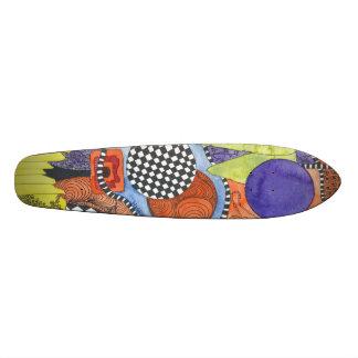 O conselho na moda e original da cor de água do shape de skate 20cm