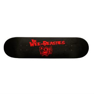 O conselho Pequenino-Beasties Shape De Skate 20,6cm