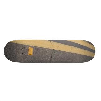 O conselho reto da rua shape de skate 18,7cm