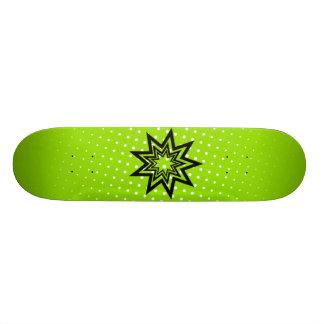 O conselho verde de Zerodraline Shape De Skate 18,4cm