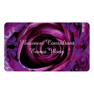 O consultor empresarial aumentou cartão de visita