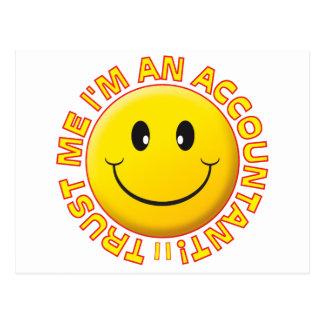 O contador confia-me smiley