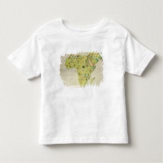 O continente de África Tshirts