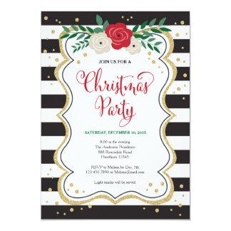 O convite da festa de Natal, festa de Natal