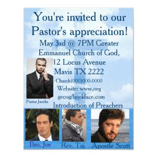 O convite da igreja personaliza
