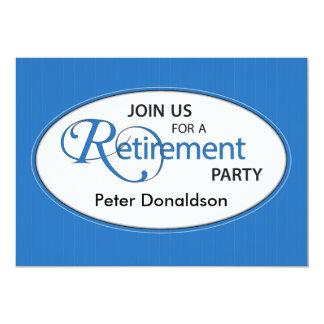 O convite de festas da aposentadoria personaliza o