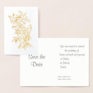 O convite do casamento aumentou na linha arte do