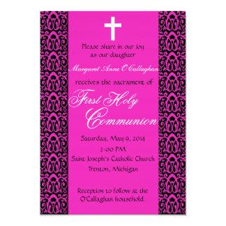 ø Convite do comunhão - meninas