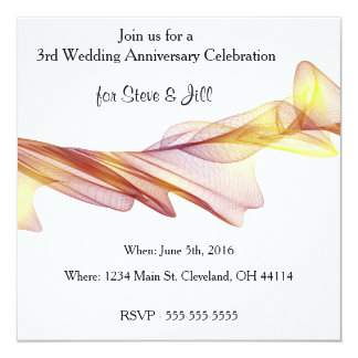 Ó convite moderno do aniversário de casamento