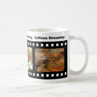 O copo de café de Thi é de minha série de Las Caneca