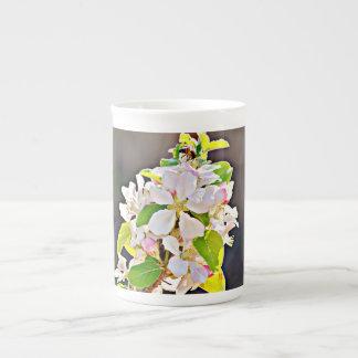 """O copo de China de osso/caneca de """"árvore Apple Xícara De Chá"""