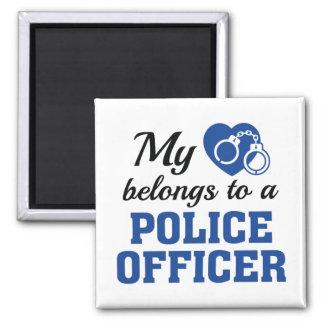 O coração pertence agente da polícia imã