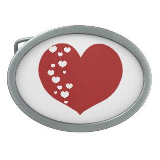 O coração segue o branco vermelho