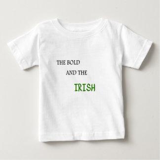 O corajoso e o irlandês tshirts