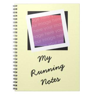 O corredor personalizado adiciona o caderno da