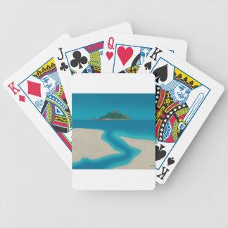O córrego baralhos para pôquer