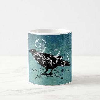 O corvo caneca de café