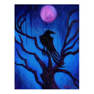 O corvo nunca mais cartão postal